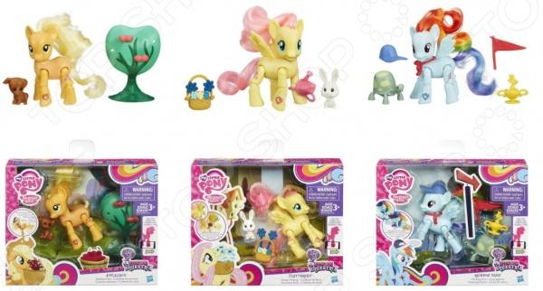 Набор игровой для девочки Hasbro «Пони с артикуляцией». В ассортименте
