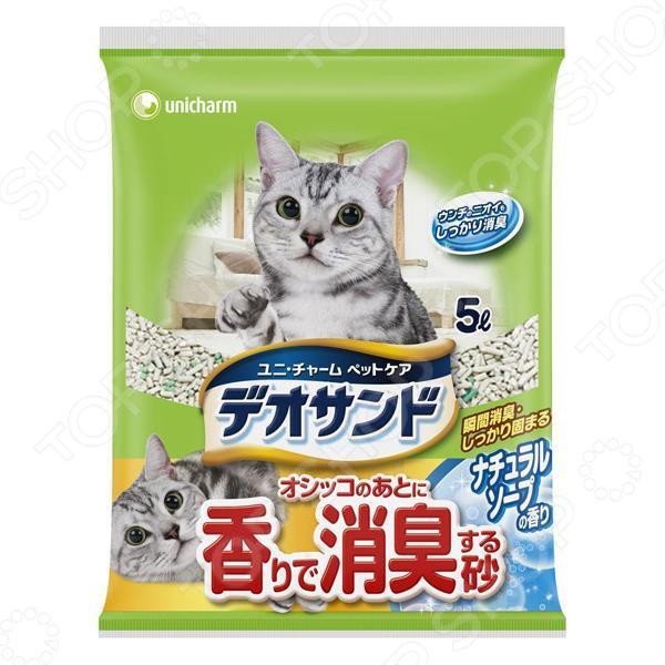 Наполнитель для кошачьего туалета Unicharm с ароматом мыла наполнитель для кошачьего туалета unicharm с ароматом мыла