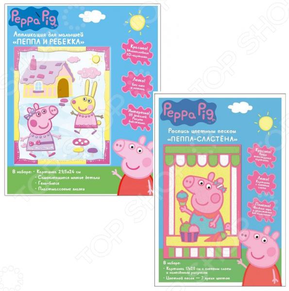 Набор для изготовления аппликаций Peppa Pig 34677