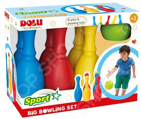 Набор для игры в боулинг Dolu большой набор для игры в боулинг dolu cute bowling set