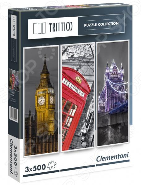 Набор пазлов 3 в 1 Clementoni Trittico «Легенды Лондона» пазл clementoni trittico 3х500 эл легенды нью йорка 39305