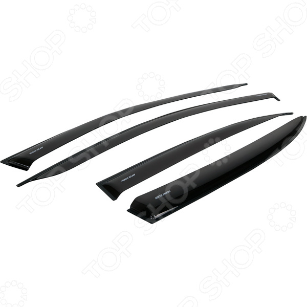 Дефлекторы окон неломающиеся накладные Azard Voron Glass Samurai Citroen C-Crosser 2007-2013 дефлекторы окон накладные azard voron glass corsar volkswagen crafter 2006 фургон