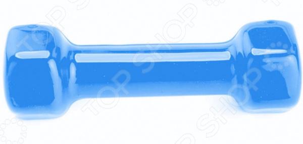 Гантель обрезиненная Bradex Rubber covered barbell. Цвет: синий Гантель обрезиненная Bradex Rubber covered barbell. Цвет: синий /