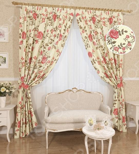 Комплект штор Сирень «Розетта» комплект штор с покрывалом для спальни в москве
