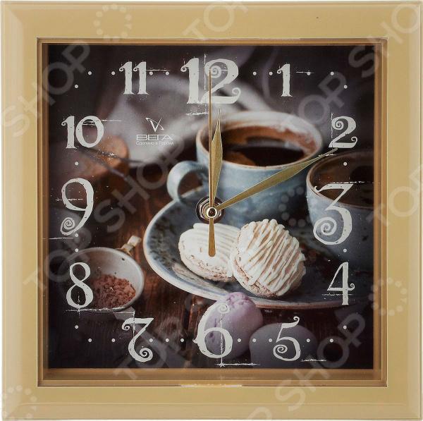 Часы настенные Вега П 3-14-131 «Чашка кофе»