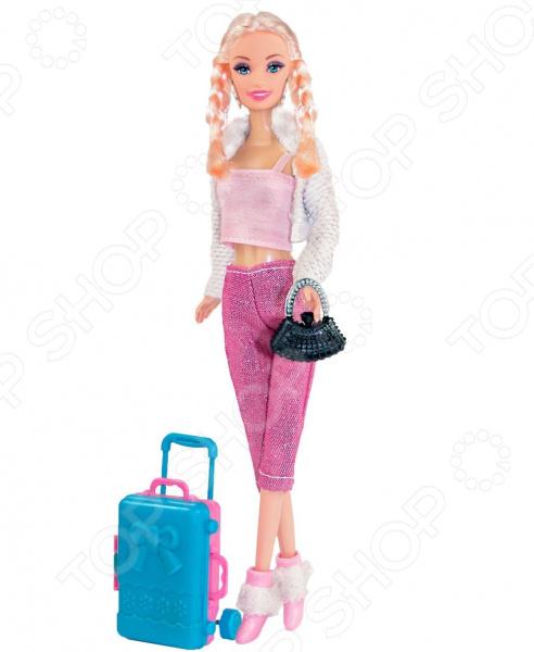 Кукла с аксессуарами Toys Lab «Блондинка с косичками. Путешественница»