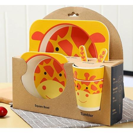 Купить Набор посуды для детей «Жираф»
