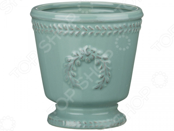 Ваза декоративная «Античный венок» 232-159 бампер задний ваз 2112 купить в киеве