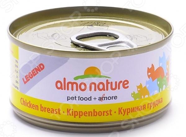 Корм консервированный для кошек Almo Nature Legend «Куриная грудка»