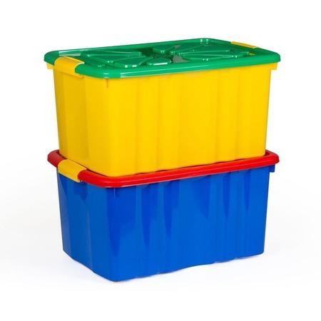 Купить Набор ящиков для игрушек Полимербыт SGHPBKP12