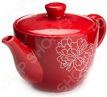 Чайник заварочный Loraine LR-25840 «Узор цветов»