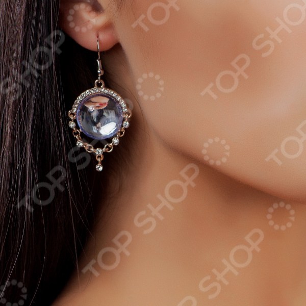 Серьги Bradex Earrings «Северное сияние» faux opal geometric earrings