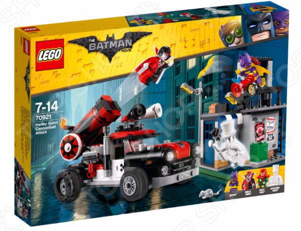 Конструктор-игрушка LEGO The Batman Movie «Тяжёлая артиллерия Харли Квинн» lego batman movie блокнот бэтмен96 листов в линейку