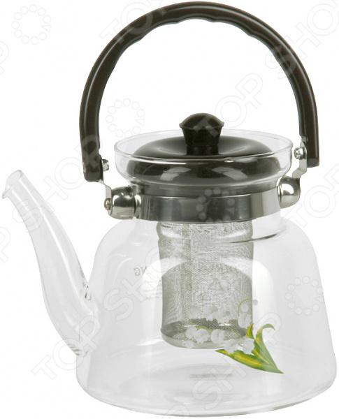 Чайник заварочный Rosenberg RGL-250005 набор бутылок для масла rosenberg rgl 225010