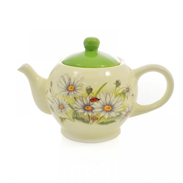 Чайник заварочный Loraine LR-26135 «Ромашки» чайник заварочный loraine lr 23768 0 7л белый с рисунком ромашки