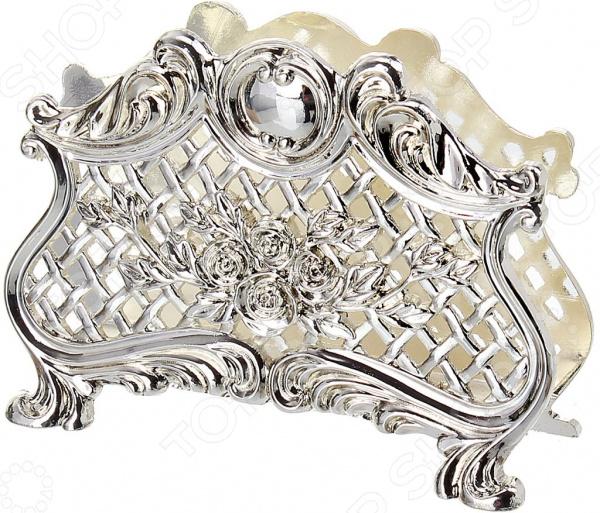 Салфетница MARQUIS 2067-MR «Розы» кольца для салфеток marquis 3038 mr