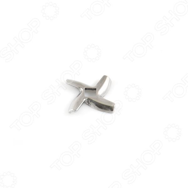 марок Moulinex & Tefal & Supra. Сечение шнека: квадрат Нож для мясорубки Bmgroup марок Moulinex & Tefal & Supra. Сечение шнека: квадрат