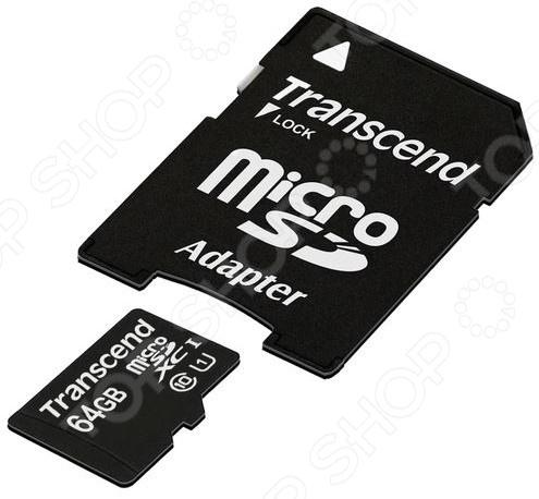 Карта памяти Transcend TS64GUSDU1