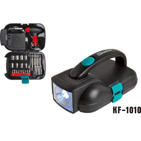 Купить Набор инструментов с фонарем Komfort KF-1010