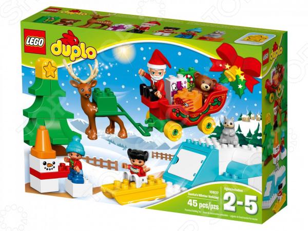 Конструктор для малышей LEGO Duplo «Новый год»