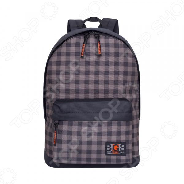 Рюкзак молодежный Grizzly RL-850-2 «Клетка» рюкзак grizzly rl 859 3 2 black