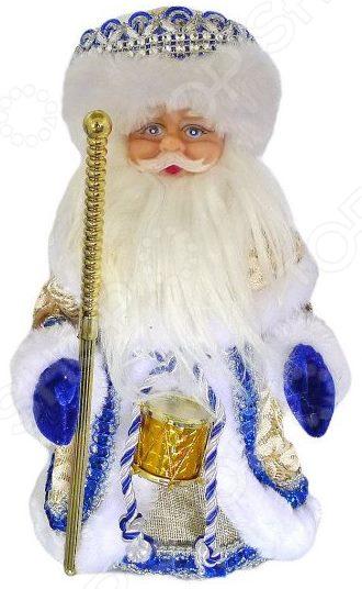Игрушка под елку музыкальная Новогодняя сказка «Дед Мороз» 972857 фигурки игрушки новогодняя сказка дед мороз под елку 15 см фиолет page 4
