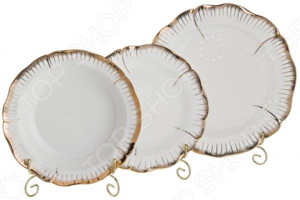 Набор тарелок Lefard «Цветочная симфония» 590-046 чайный набор lefard цветочная симфония 590 004