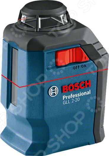 Нивелир лазерный Bosch GLL 2-20 нивелир bosch gll 3 80 06159940m0 зимний набор сумка bosch