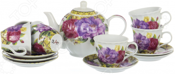 Набор чайный OlAff Square Gift Box CM-F13-SGB-025 набор чайный olaff see through box 4 предмета cm 2cs spvc 029