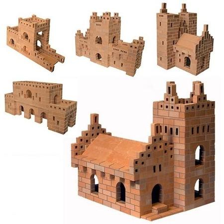 Купить Конструктор из глины Brick Master «Собор 5 в 1»