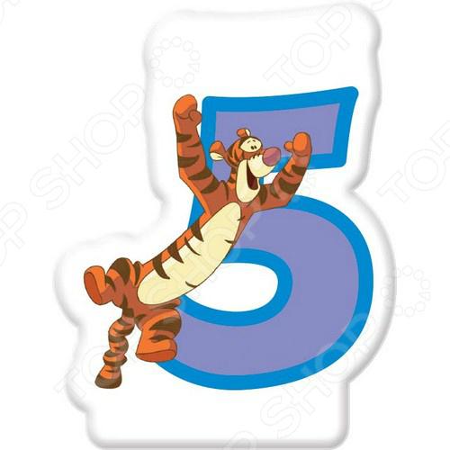 Свечка объемная Procos «Тигра» 5 лет Procos - артикул: 387796