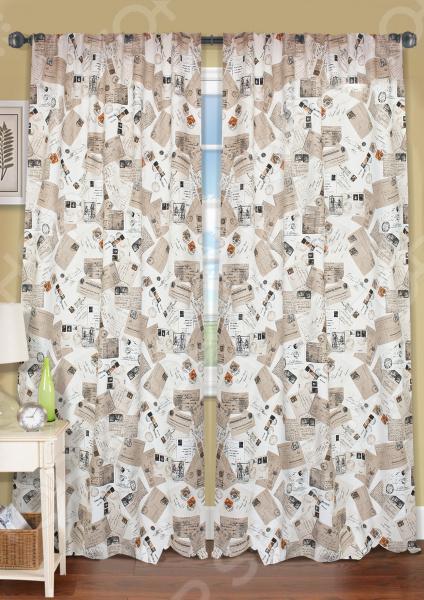 Шторы Kauffort Postcard шторы комнатные айлант об13