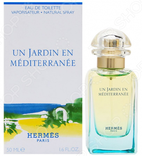 Туалетная вода для женщин Hermes Un Jardin En Mediterranee, 50 мл terre d hermes m per 75 мл