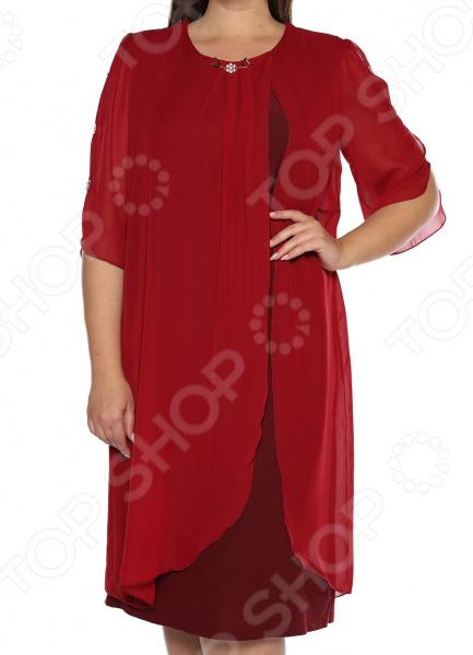 Платье Pretty Woman «История любви». Цвет: бордовый