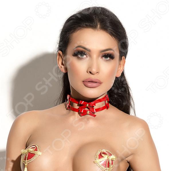 Чокер тематический Me Seduce Queen of Hearts: Bonita queen sex doll