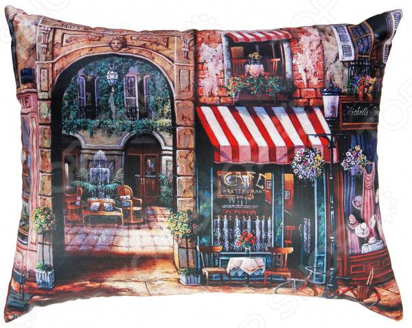 Подушка декоративная Gift'n'Home «Парижский дворик»