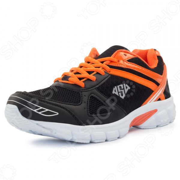 Спортивные кроссовки AS4 47592A11 Fred обладая всеми необходимыми качествами для занятия бегом. Это универсальная и практичная модель спортивной обуви, перед которой вы не сможете устоять.   Эти кроссовки прекрасно подойдут не только новичкам, но и любителям.  Качественные материалы облегчают ходьбу, продлевая период вашей бодрости и активности.  Рисунок протектора обеспечивает превосходное сцепление с полом, позволяя легко ускоряться.  Верх кроссовок выполнен из полиуретана. Он достаточно мягкий и гибкий, имеет небольшой вес, поэтому обувь не утяжеляет ноги.  Сеточные вставки хорошо пропускают воздух, предотвращая прение стоп.  Движение в этой обуви перераспределяет вес тела, уменьшая давление на спину и суставы. Благодаря физиологически правильной постановке стопы улучшается кровообращение, помогая вам похудеть и с удовольствием заниматься спортом.