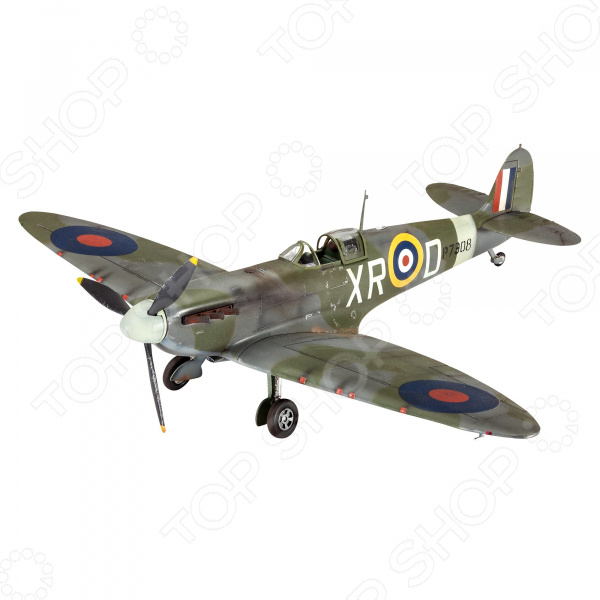Сборная модель истребителя Revell Spitfire Mk.II сборная модель истребителя revell f 15e eagle