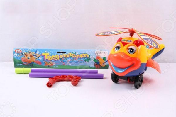 Игрушка-каталка для малыша PlaySmart «Рыба с пропеллером» Р40812