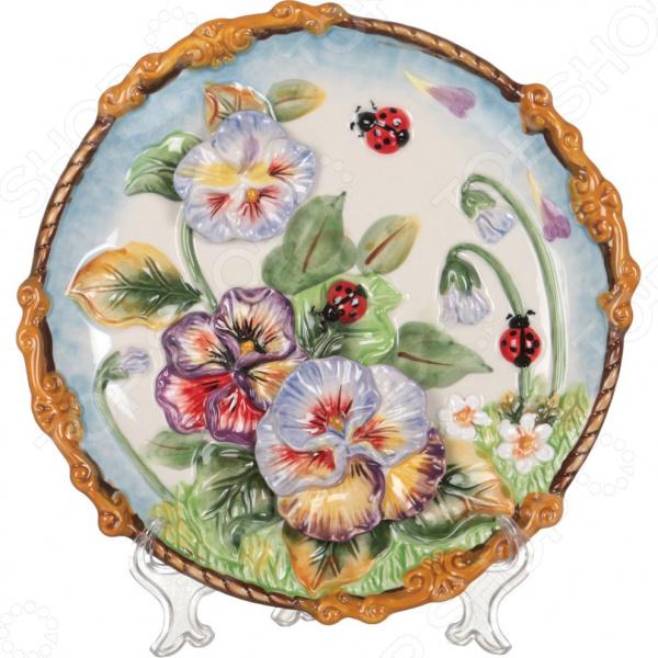 Тарелка декоративная Lefard «Весна» 59-566 тарелка декоративная lefard 59 565