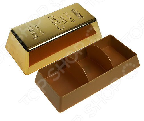 Шкатулка сувенирная «Золотой слиток» - артикул: 935846