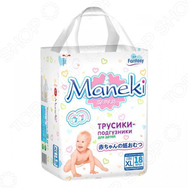 Подгузники-трусики Maneki Fantasy XL (12+ кг)