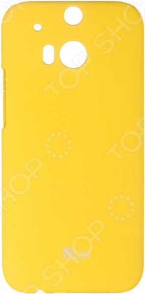 Чехол защитный skinBOX HTC One M8 htc one m8 16gb купить дешево