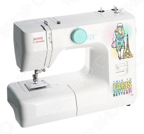 Швейная машина Janome Juno 517 электромеханическая швейная машина janome dresscode 206689