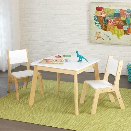 Купить Набор детской мебели: стол и два стула KidKraft Modern