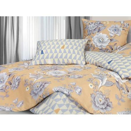 Купить Комплект постельного белья Ecotex «Гармоника. Белый шиповник»