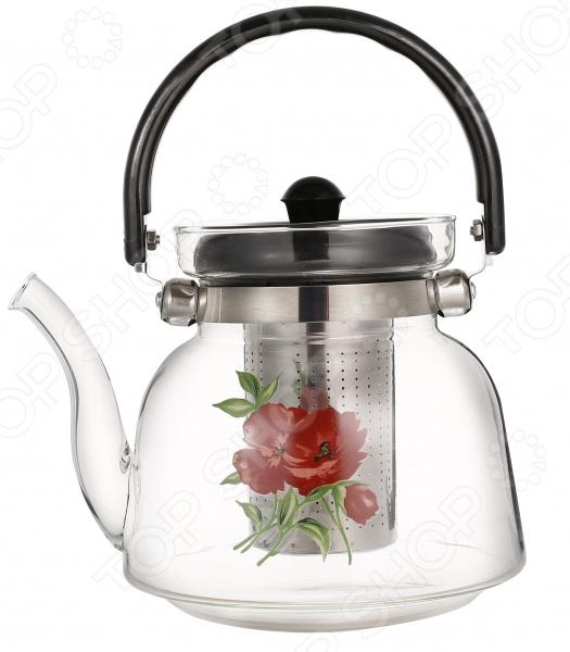 Чайник заварочный Bekker «Цветы»