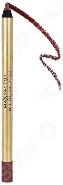Фото - Карандаш для губ Max Factor Colour Elixir Lip Liner concise colour block and circle pattern design men s slippers