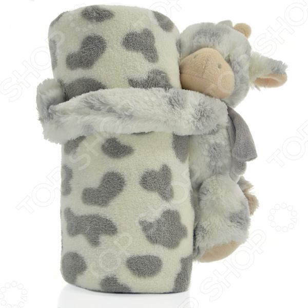 Плед детский с игрушкой Santalino «Муму» 851-002
