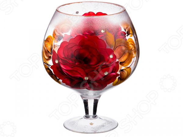Ваза декоративная 135-2437 вазы pavone ваза камелия